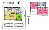 狭山市水野 新築分譲 西武新宿線『入曽駅』徒歩26分 【山王小学区】の画像