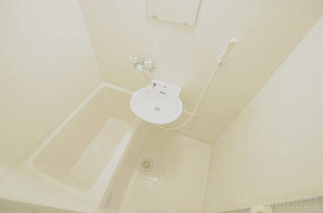 【洗面所】レオパレス小荷田