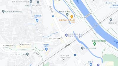 【地図】シプレコート茨木