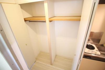 便利な収納スペース