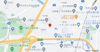 【地図】サンガーデン茨木