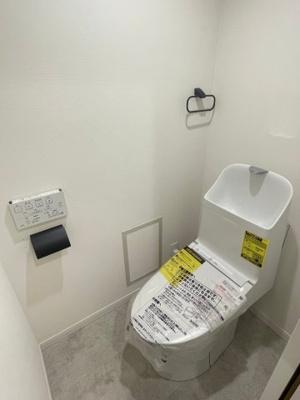 【トイレ】秦野南が丘さつき東住宅『内装フルリノベーション』1階