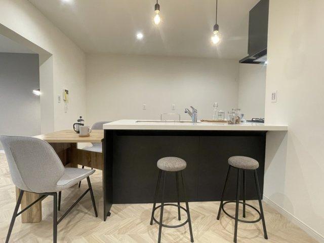 【キッチン】秦野南が丘さつき東住宅『内装フルリノベーション』1階