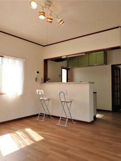 対面式オープンキッチンを設置