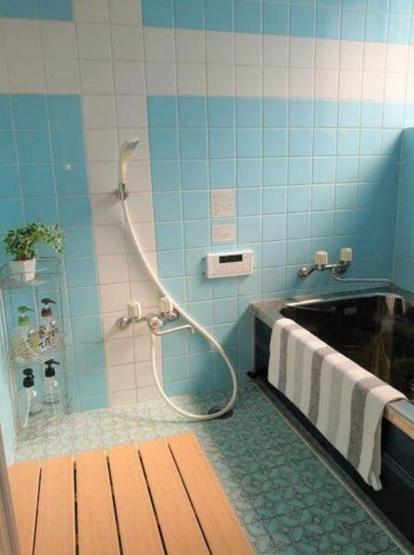 清潔感の有る浴室~追い焚き機能付き