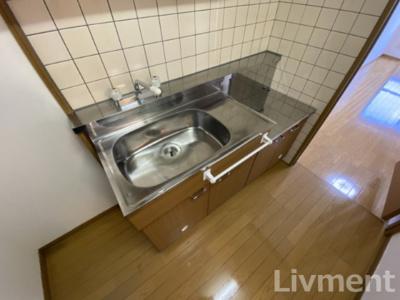 【キッチン】エル新屋敷