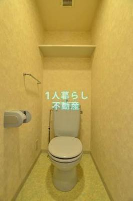 トイレ個室です。