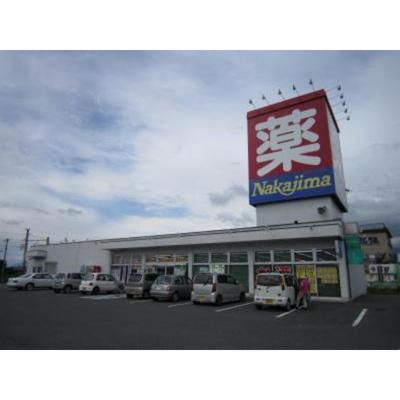 ドラックストア「ドラッグナカジマ塩川店まで905m」