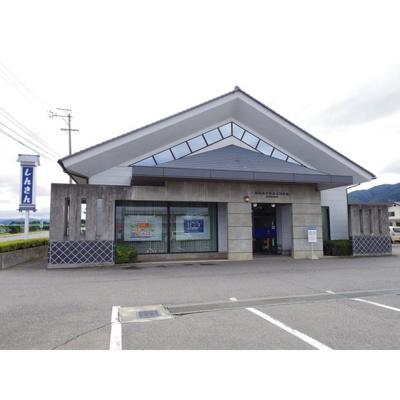 銀行「松本信用金庫波田支店山形出張所まで2174m」