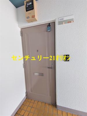 【エントランス】パールハウス2号棟