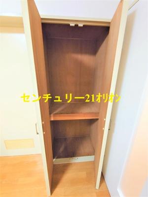 【収納】パールハウス2号棟