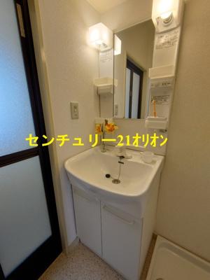 【洗面所】パールハウス2号棟