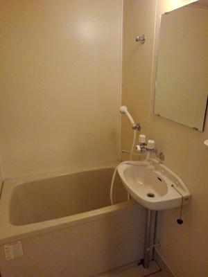【浴室】コーポ長島B