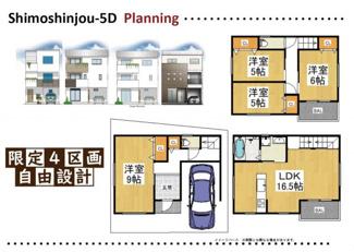 東淀川区下新庄5丁目 限定4区画! 売土地+新築プラン