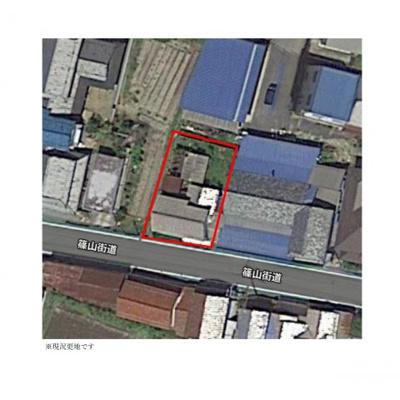 【区画図】丹波篠山市日置 売土地450