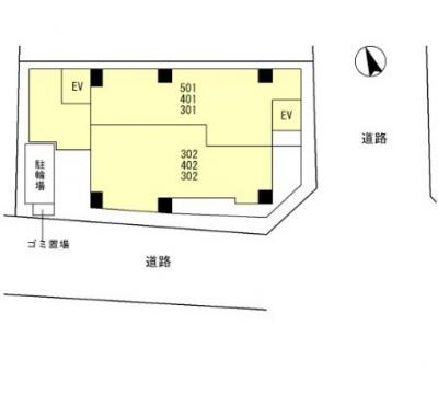 【区画図】メゾンキコー長瀬