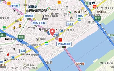 【地図】サムティ姫島FELICETO