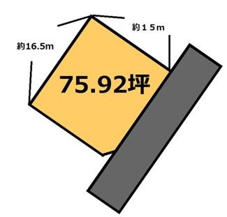 【土地図】阿見 320万円