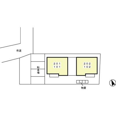 【区画図】クァトロ・カーサ