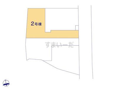 【区画図】リーブルガーデンS宝塚市鹿塩