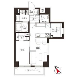 2階の開放的な東南角部屋、新規内装リノベーション済です