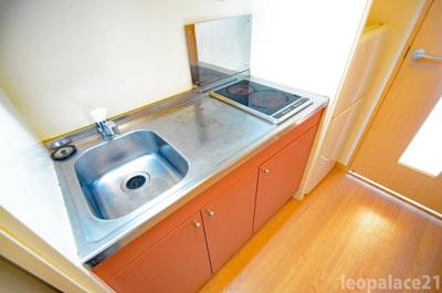 【キッチン】レオパレスグリーンサイト A棟