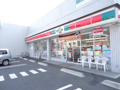 サンクス三鷹新川六丁目店まで100m