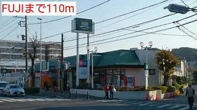 FUJIまで110m