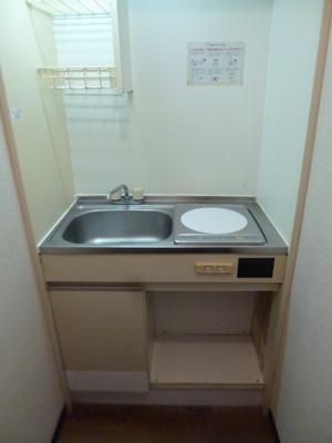 【キッチン】スカイコート多摩川第2