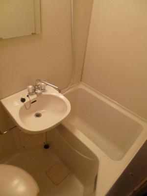 【浴室】スカイコート多摩川第2