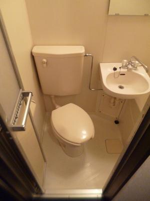 【トイレ】スカイコート多摩川第2