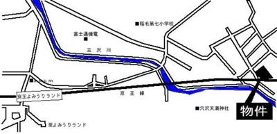 【地図】スカイコートよみうりランド