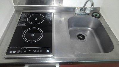 【キッチン】レオパレスラビドールⅡ