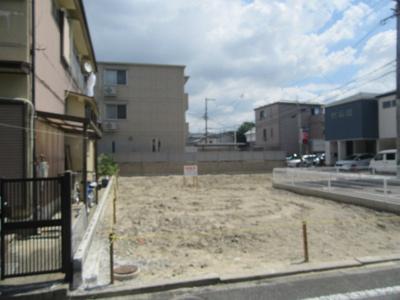 【外観】茨木市上泉町 建築条件無し土地