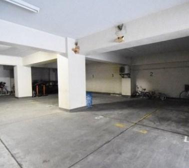 中野東豊マンションの駐車場です。