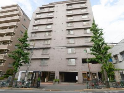 中野東豊マンションの外観です。
