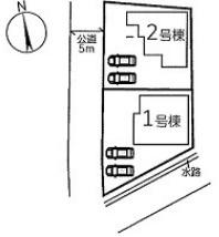 【区画図】リーブルガーデンS姫路市香寺町犬飼