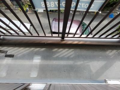 【バルコニー】吉田3丁目貸家
