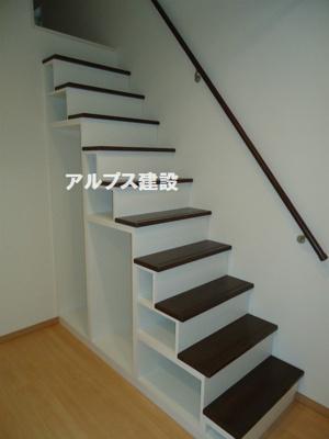 階段式ロフト