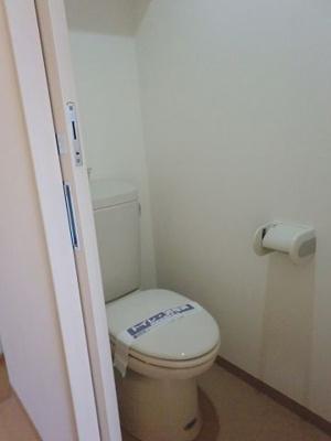 個室タイプトイレです。