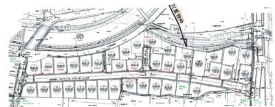 【区画図】坂本7丁目 分譲36区画 17号地