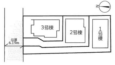【区画図】リーブルガーデンS伊丹市梅ノ木