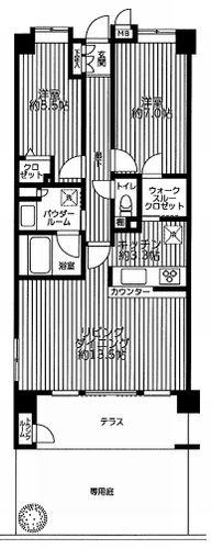 平塚市上平塚 サンデュエル湘南平塚ブライトステージ 中古マンション