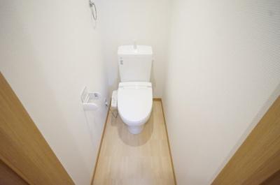 広めのトイレ