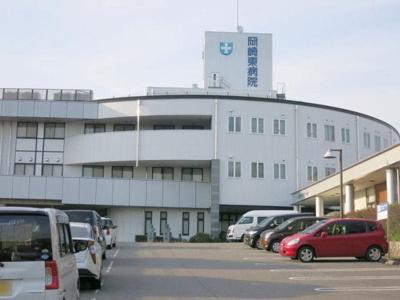 岡崎東病院まで850m