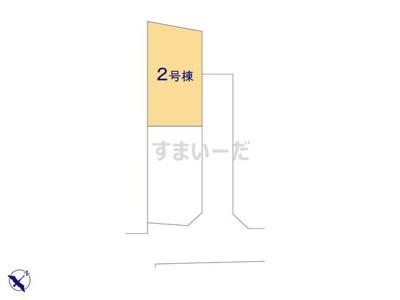 【区画図】リーブルガーデンS泉佐野市鶴原2期
