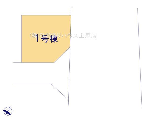 【区画図】蓮田市藤ノ木 新築一戸建て リーブルガーデン 01