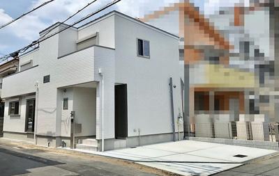 【外観】東大阪市友井3丁目 新築戸建
