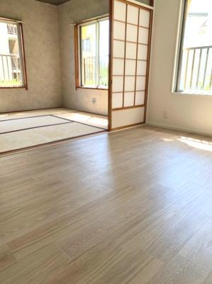 【居間・リビング】伊川谷住宅12号棟