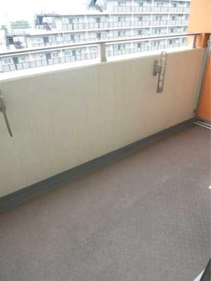 【バルコニー】ステージグランデ三軒茶屋アジールコート ネット無料 24時間ゴミ出し可 独立洗面台